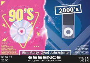 90s VS 2000s - Eine Party- Zwei Jahrzehnte