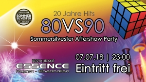 Sommersilvester Aftershow Party